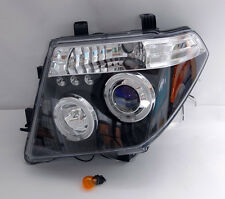 Black Projector Halo LED Headlights FITS Nissan Frontier/Pathfinder/Navara D40