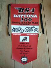 BSA Gold Star A7SS Daytona 200 1954 style PENNANT
