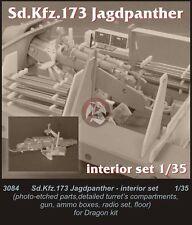 CMK 1/35 Sd.Kfz.173 Jagdpanther Interior Set (for Dragon kit) 3084