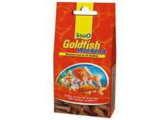 Tetra Goldfish weekend, vacation food, weekend food for all goldfish, 10 sticks