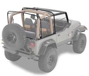 1988-1995 Jeep Wrangler Soft Top Complete Hardware and Frame Kit