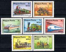 Hungría 1979 Transporte/trenes/máquina de vapor/Carril de ferrocarriles// Locomotoras 7 V n29635