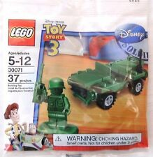 Lego Toy Story 3 30071 Green Army Man Men Jeep
