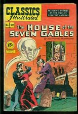 Classics Illustrated #52, House of Seven Gables Hrn 89!
