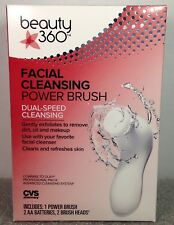Beauty 360 Facial Cleansing Power Brush Dual Speed CVS BRAND NEW & FREE SHIPPING