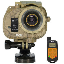 XCEL HD2 Action Camera Hunting Edition Wireless Remote Camo w/ Accessories *NEW*