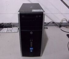 HP 6200 Pro Tower Desktop - NO OS, 3.1GHz i5-2400, 8Gb RAM, 500Gb HDD, DVD/RW