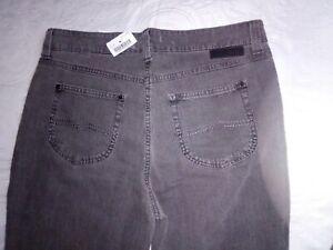 Mac Jeans Angela Gr. 42 44 L30 (Kurzgröße), grau neu