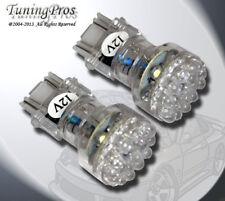 LED Front Signal Light Bulbs 3157 24 Amber Set of 2pcs (two pcs) 3757A 3057