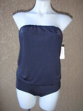 NWT Maio Swim by Monica Wise women's 4 loose fit strapless one-piece swimsuit