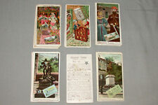1910's Lot of 29 Tobler Swiss Chocolate Victorian Trade Cards