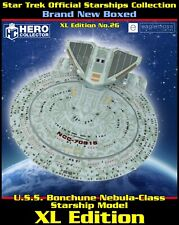 More details for star trek official starship collection: uss bonchune nebula-class (xl edition)