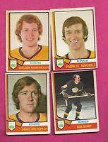 1974-75 OPC LOS ANGELES KINGS  CARD LOT (INV# C1981)