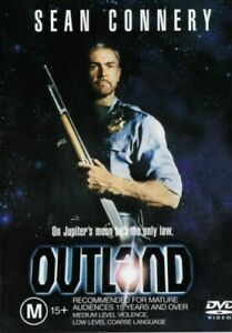 Outland DVD Region 4 - Sean Connery - Sci-Fi Thriller - Rare OOP