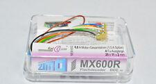 Zimo MX600 R kleiner Digitaldecoder Decoder DCC, 8 pol. NEM. NEU in OVP MX 600R