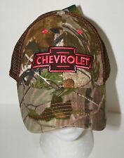 Unique Pink & Camo Chevrolet Chevy Automotive Car Baseball Cap Hat New OSFM