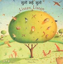 Listen, Listen in Hindi and English by Gershator, Phillis | Paperback Book | 978