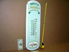 "CHEVY CAR - TEMPERATURE SIGN -Reilly's Repair Center -BIG 27""-VERY FEW WERE MADE"