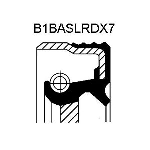 Crankshaft Oil Seal fits OPEL ASTRA G Timing End 2.0D 2.2D Corteco 638196 New