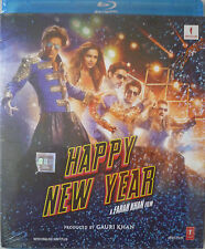 HAPPY NEW YEAR - BOLLYWOOD Blu-Ray Disc - Shahrukh Khan, Deepika Padukone.