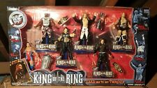 WWF WWE King of the Ring 6 figure box set Jakks rare new trophy belts Edge Hardy