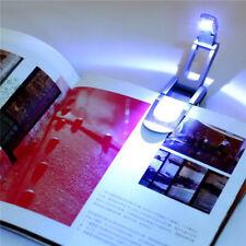Clip Flexible Folding LED Book Desk Light Reading Booklight Lamp Bulb For Reader