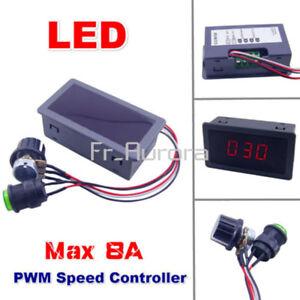 DC 12V 24V 8A Motor Driver Module L298N PWM Speed Controller Digital Display