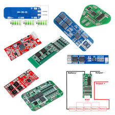 2S/3S/4S/5S/6S 18650 Li-ion Lithium Battery Charger PCB BMS Protection Board