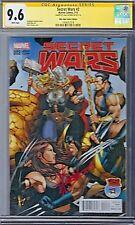 SECRET WARS (2015) # 2 Mile High Comics Variant Cover CGC 9.6 SS