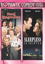 STEEL MAGNOLIAS and SLEEPLESS IN SEATTLE The MOVIE on a 2 DVD of ROMANTIC COMEDY