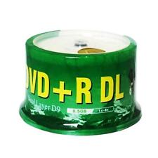 50 Pieces  Banana Blank Printable DVD+R DL 8x Dual Layer 8.5GB D9 dvd dl discs