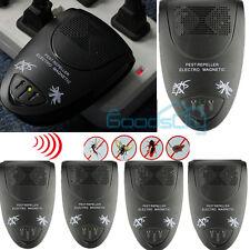 5X Ultrasonic Electronic Indoor Anti Mosquito Rat Mice Pest Bug Control Repeller