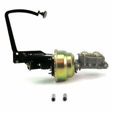 35-40 Ford OEM X 8 Dual Brake Pedal kit Disk/DrumSm Oval Blk Pad