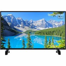 Techwood 40AO7USB 40 Inch Smart LED TV 1080p Full HD 3 HDMI