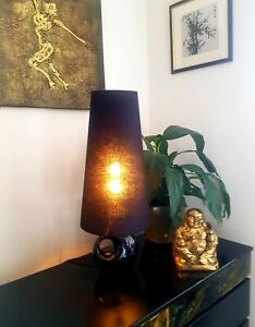 Cone Lampshade Large 45 cm high Black
