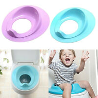 Baby Toilet Potty Training Seat Kids Potty Seat Pad Non-Slip Splash Guard I E2G3