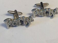From English Modern Pewter Party Tg39 Cufflinks Made