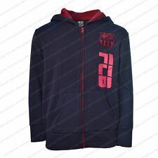c1623c59701 Fc Barcelona Jacket Fleece Youth Soccer Navy Zip up Hoodie Lionel Messi 10