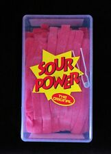 Sour Power Strawberry Candy Belts 150 count by Dorval  2lb 42.3oz