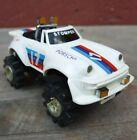 Schaper Stomper Porsche 911 4x4 White Car Vintage 1980s (only lights work)