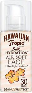 Hawaiian Tropic Silk Hydration Air Soft Face Protective Sun Lotion (SPF 30, 50ml