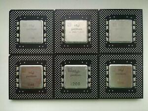 Intel Pentium 166 200 233 MMX 166 200 non MMX classic Pentium, Vintage CPU, GOLD