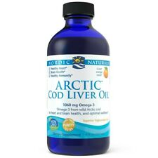 Nordic Naturals Arctic Cod Liver Oil (Kabeljau Öl) 237ml, Orange, VERSAND WELTWE