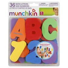 Munchkin IMPARA bagno 36 LETTERE & Numeri Bambini PRIMARIA bagnetto DIVERTENTE