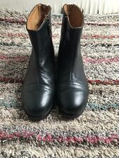 ALBERTO FERMANI WOMENS LEATHER ANKLE BOOTS SIZE 36 (Euro Size)