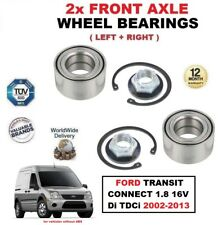 FOR FORD TRANSIT CONNECT 1.8 16V Di TDCi 2002-2013 FRONT AXLE WHEEL BEARINGS SET