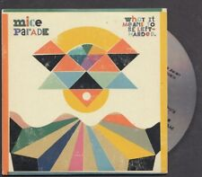 MICE PARADE What It Means To Be Lefthanded PROMO CD ALBUM IN CARDslv