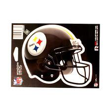 """PITTSBURGH STEELERS HELMET WINDOW DECAL 5.25"""" X 6.25"""" NFL STICKER CAR DIE-CUT"""