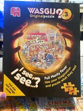 Wasjig Number 3 Full Monty Fever 500 Piece Jigsaw Puzzle Complete