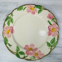 Vintage Franciscan California Desert Rose Dinner Plate 10.5 In Diameter